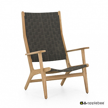 Odette lounge chair high back