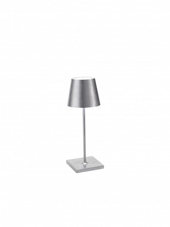 Poldina Mini tavolo Foglia Silver